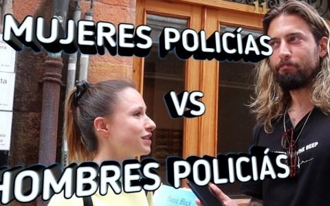 Diferencias entre hombres policía y mujeres policía
