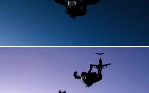 Cómo se grabó la escena de Tom Cruise tirándose del avión en la última de Misión Imposible