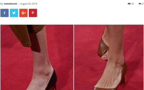 """Llegan los tacones """"Big Toe"""" diseñados para enseñar el dedo gordo del pie"""