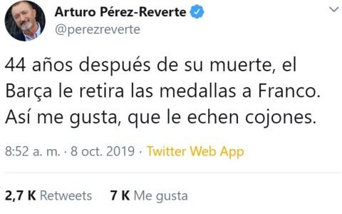 Reverte forever MVP de Twitter