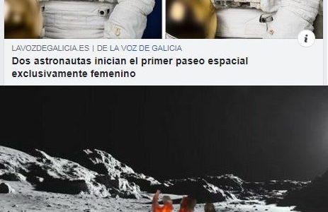El feminismo llega al espacio