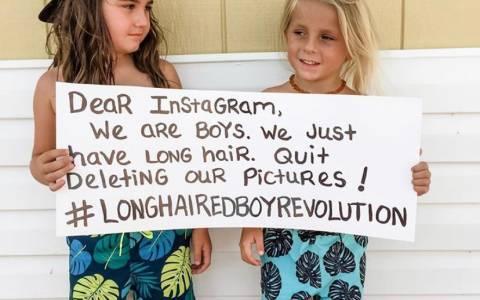 El algoritmo de censura de Instagram está eliminando fotos de chicos de pelo largo sin camiseta