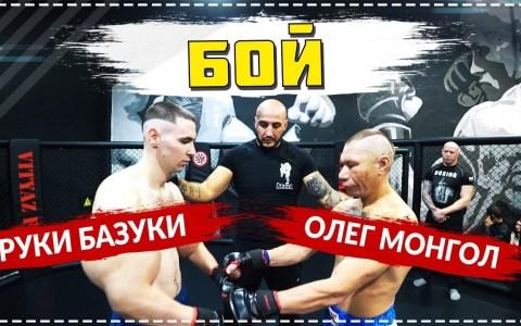 El popeye de synthol se enfrenta al luchador y bloguero Oleg Mongol
