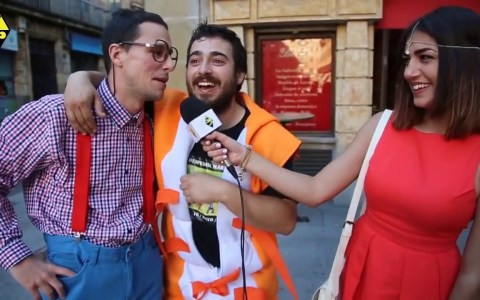 ¿Por qué venís a Salamanca?