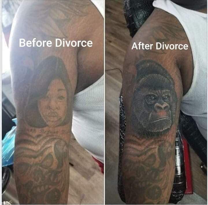Antes vs Después del divorcio