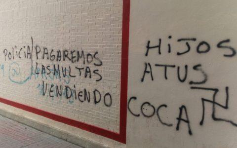 Más pintadas top en Huelva