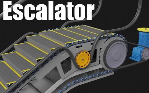 Así funcionan las escaleras mecánicas