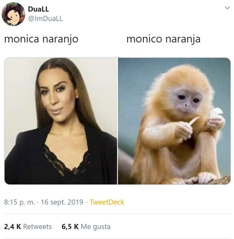 ¿Cuánto va a tardar en confesar Mónica Naranjo que es Nicolas Cage con peluca?