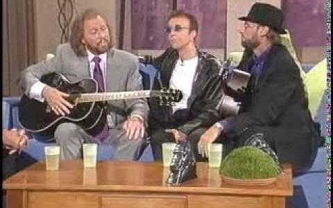 Los Bee Gees interpretando How Deep Is Your Love acapella en 1998