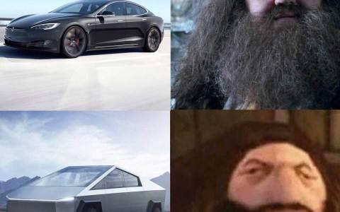 Los mejores memes sobre el nuevo Tesla Cybertruck