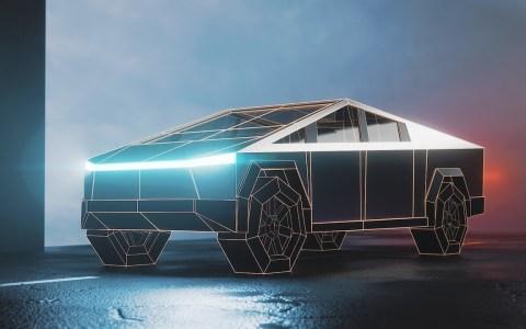 Diseñando el Tesla Cybertruck en un minuto