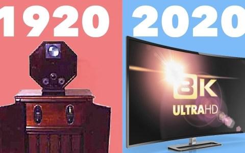 Evolución de las televisiones desde su nacimiento en 1920 hasta la actualidad