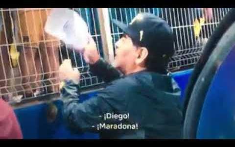 """Maradona superando el vídeo de """"GOOOLAZOOO!"""""""