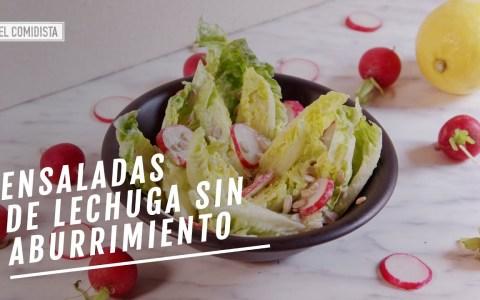 EL COMIDISTA | Tres ensaladas de lechuga que no son la de siempre