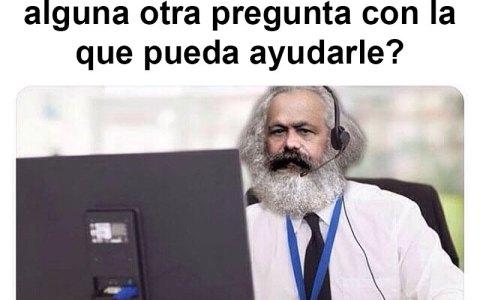 Karl Marx cambia, Karl Marx repara...