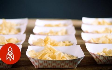 Así nacieron las patatas fritas