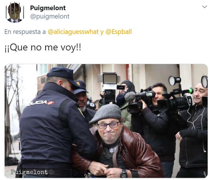 Maldita policía feixista...