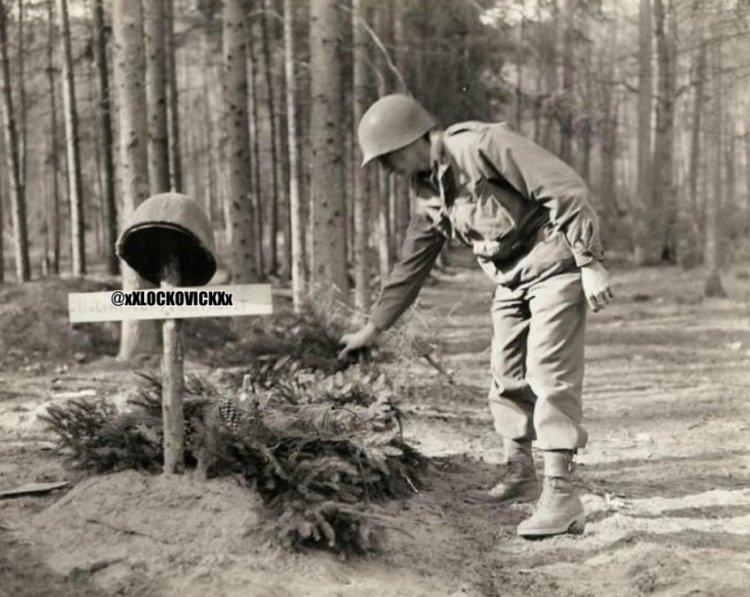 Un minuto de silencio por este soldado caído en combate
