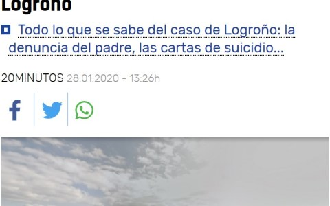 ¿Otro suicidio?