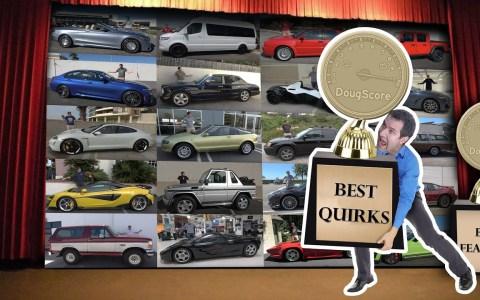 Los gadgets y características más pintorescas que se ha encontrado Doug Demuro en los coches que ha probado este año