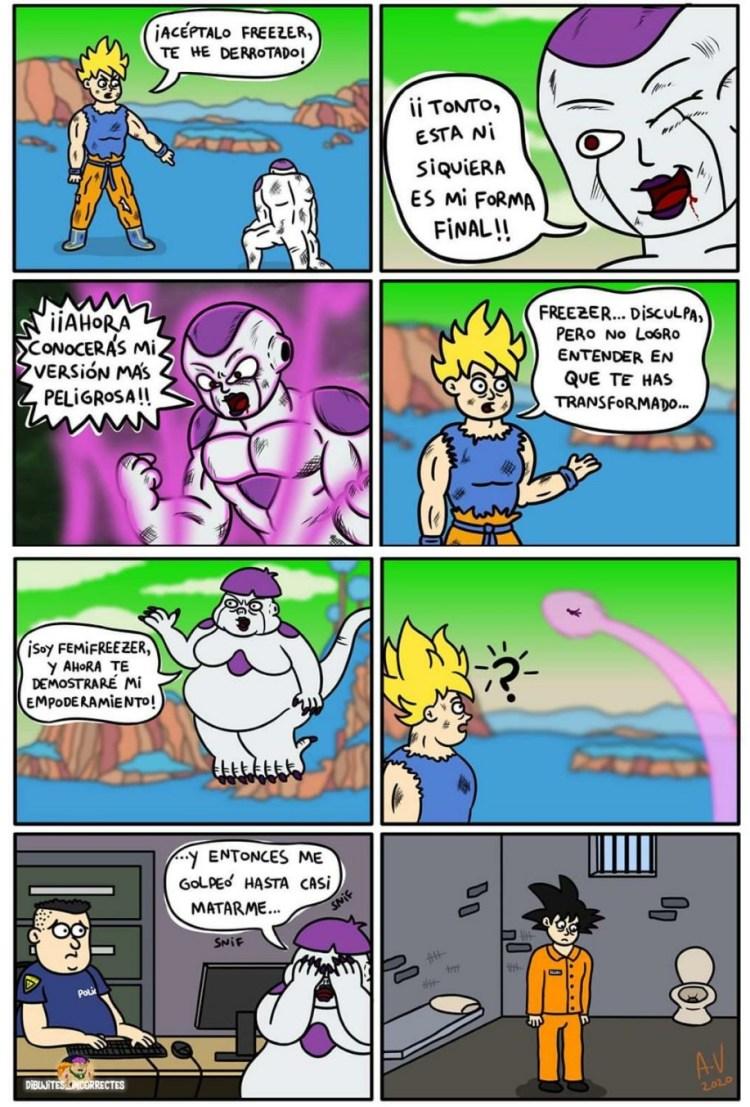 Goku tiene un punto débil