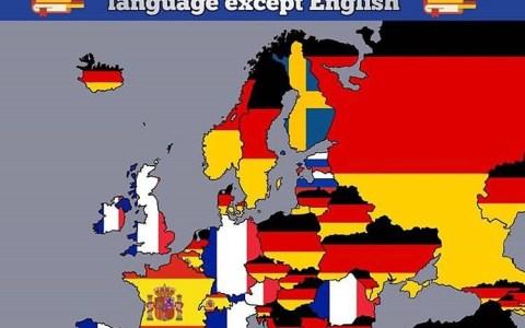 Los idiomas extranjeros más estudiados en Europa sin contar el inglés