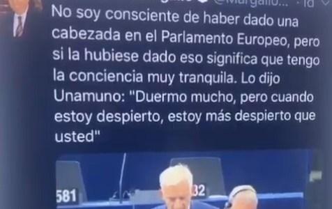 Margallo es un crack de las excusas mierder