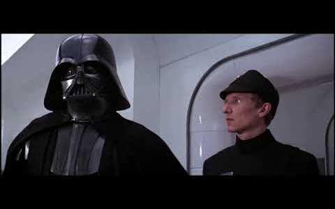 Star Wars pero con Darth Vader interpretado por Paco Martínez Soria
