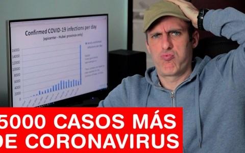 Actualización de última hora: aumentan drásticamente los contagios por coronavirus