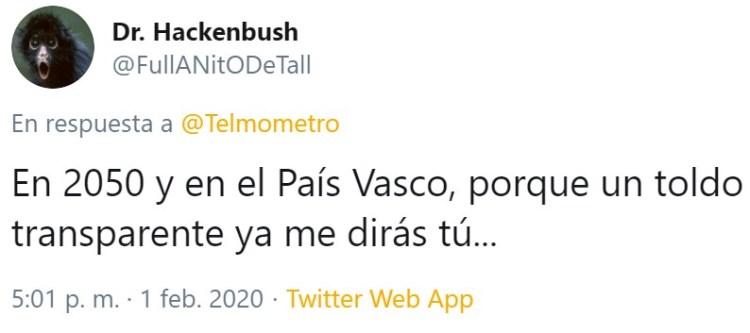 El padre de Telmo vive en 3085