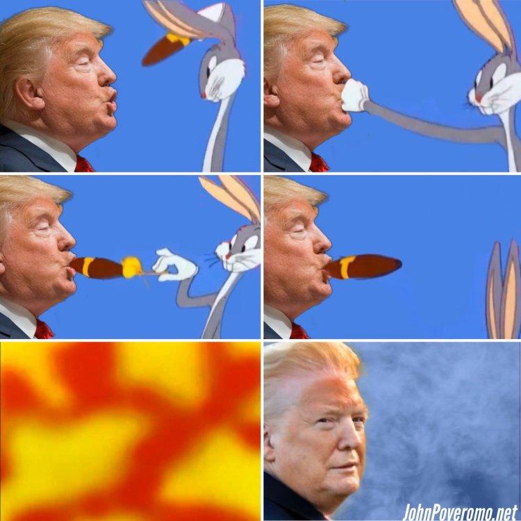 Y por eso Trump tiene la cara naranja