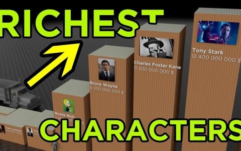 Los personajes de ficción más ricos según FORBES
