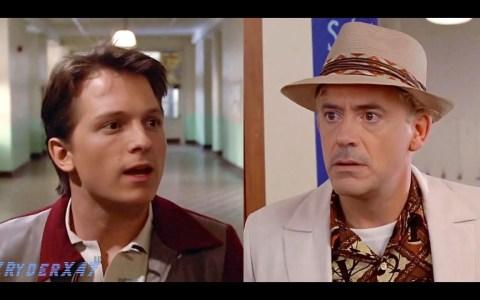 #DeepFake: Si Regreso al Futuro hubiese sido protagonizado por Robert Downey Jr. y Tom Holland