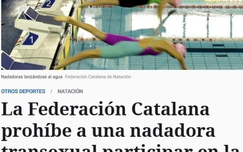 Prohíben la participación de una mujer trans en una competición de natación femenina