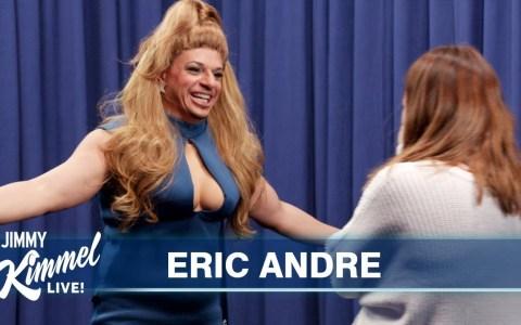 Eric Andre se hace pasar por Beyoncé para trolear a los fans de Beyoncé