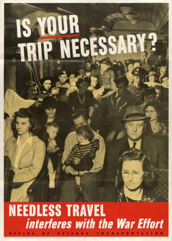 Carteles de la Segunda Guerra Mundial que son válidos estos días