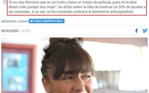 Candela Peña: Al pan pan, y al vino vino