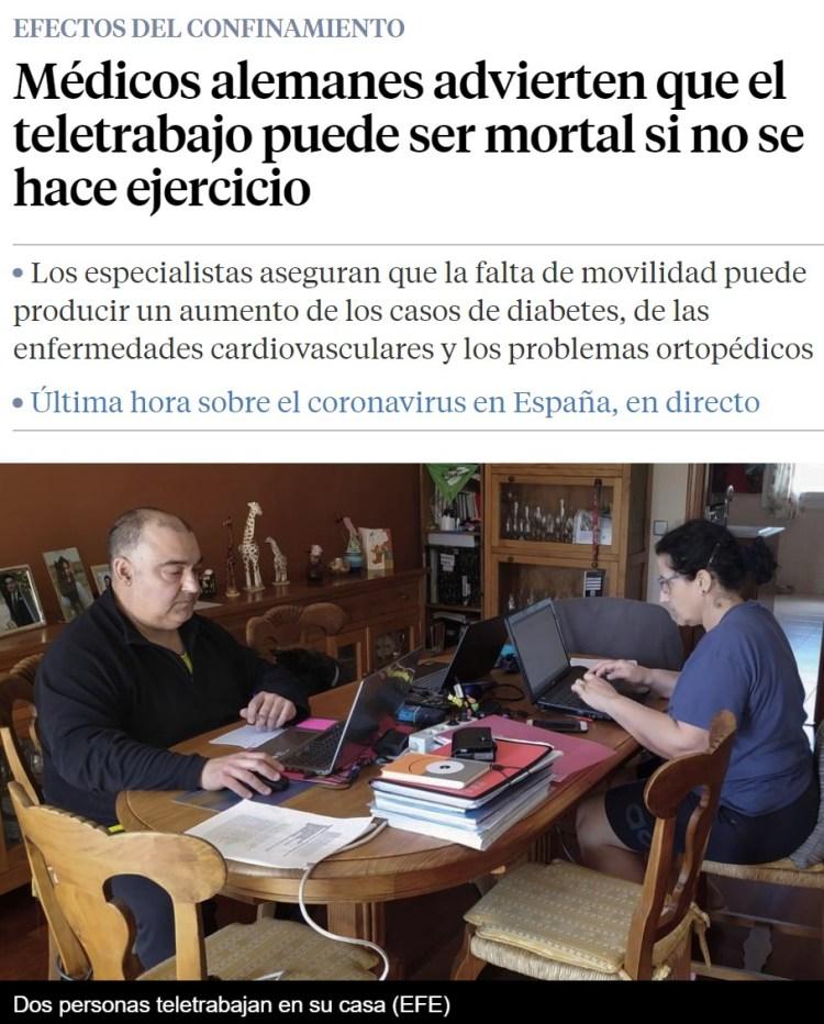 ¿Teletrabajas? Spoiler: VAS A MORIR