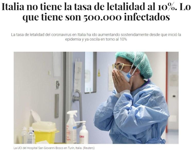 Muy interesante artículo: hay un aumento de muertes muy superior a los datos que el gobierno está atribuyendo al coronavirus