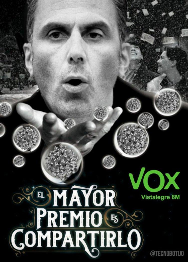 Ir a un mitin de Vox y llevarte el premio gordo