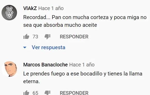 """El vídeo en el que Paco Roncero explica su receta del """"bocadillo Perfecto"""". Ojo a los comentarios."""