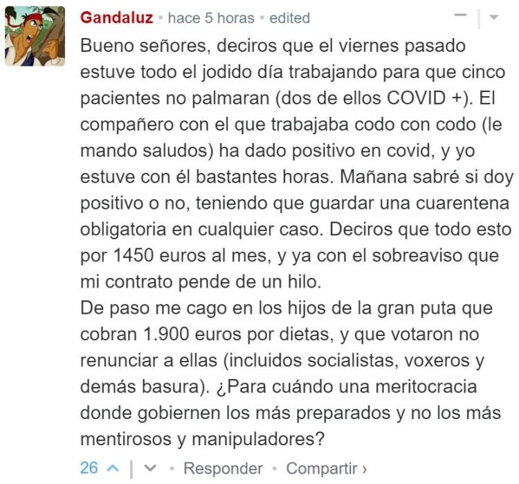 Gandaluz es un fínolier que se dedica a salvar vidas, estando infraprotegido y mal pagado