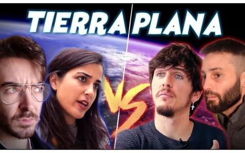 Dos científicos (con sus carreras, y eso) debaten con dos terraplanistas a pecho descubierto