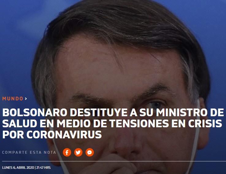 Vamos a darnos una vuelta por Brazil, a ver qué tal llevan la crisis por allí con su flamante presidente Jair Bolsonaro...