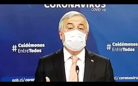 """El Gobierno de Sebastián Piñera (Chile) contabiliza a los muertos como """"recuperados"""" porque """"ya no contagian"""""""