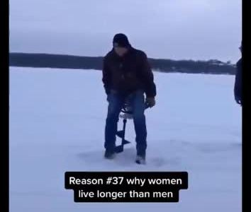 Razón Nº37 por la cual los hombres vivimos menos