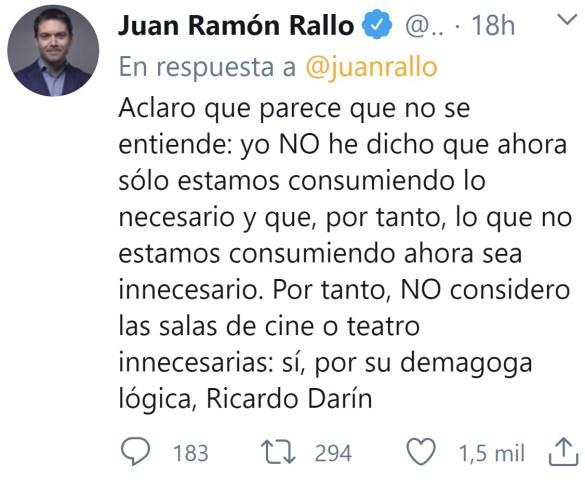 """Ricardo Darín: """"Consumíamos cosas que no necesitábamos"""""""