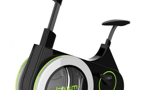 BWM: La bicicleta estática que aprovecha la energía de tus piernas para hacer la colada