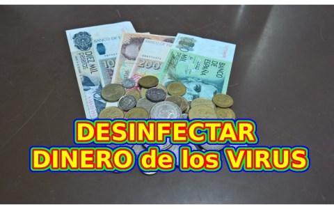 Cómo desinfectar billetes