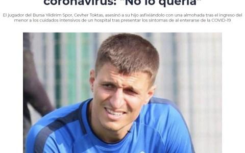 """Un futbolista turco se carga a su hijo de 5 años con coronavirus porque """"no lo quería"""""""